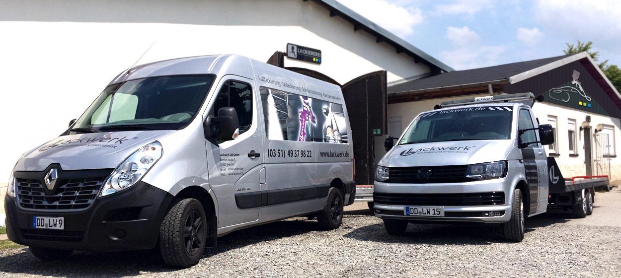 Hol- und Bringservice für Autohäuser und Werkstätten
