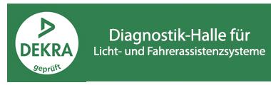 DEKRA geprüft - Diagnostik-Halle
