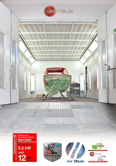 Autolackiererei Dresden Lackwerk - Modernste Lackiertechnik, moderne Filtersysteme - schonend zur Umwelt