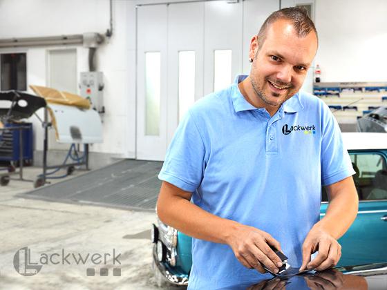 Lackwerk LW GmbH - Werkstattleiter Peter Müller-Naumann